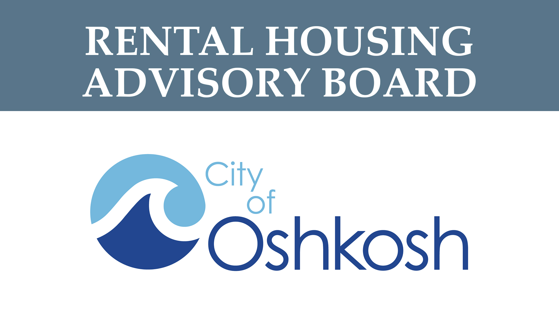 Rental Housing Advisory Board